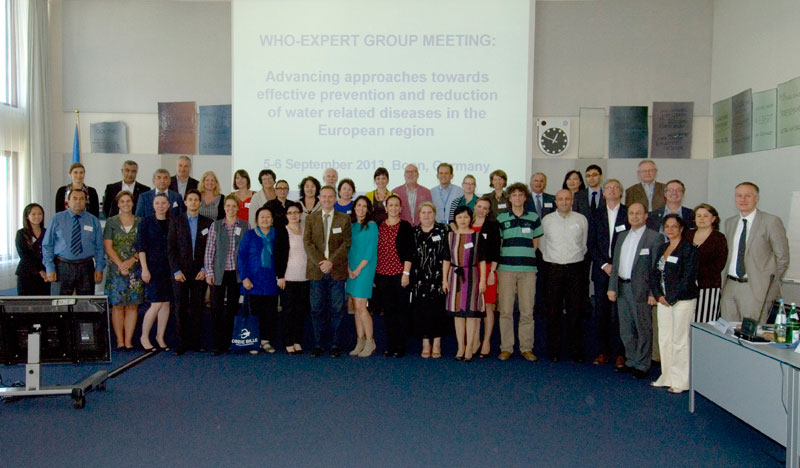Expert group meeting on advancing approaches towards effective prevention and reduction of water-related diseases in the European Region, Bonn, Germany